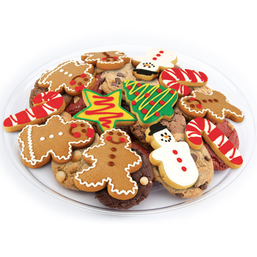 Christmas M&M Cookies  Christmas Cookie Tray Christmas Cookie Favors