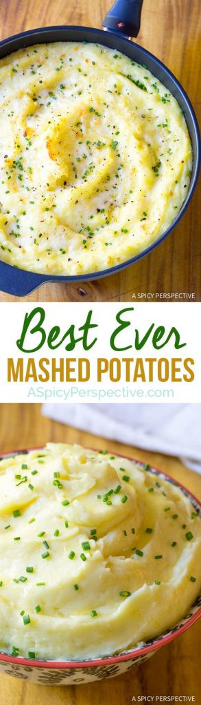 Christmas Mashed Potatoes  Favorite Holiday Side Dishes landeelu