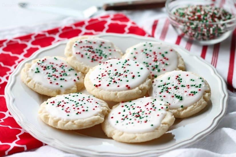 Christmas Meltaway Cookies  Christmas Meltaway Cookies Video Dessert Now Dinner