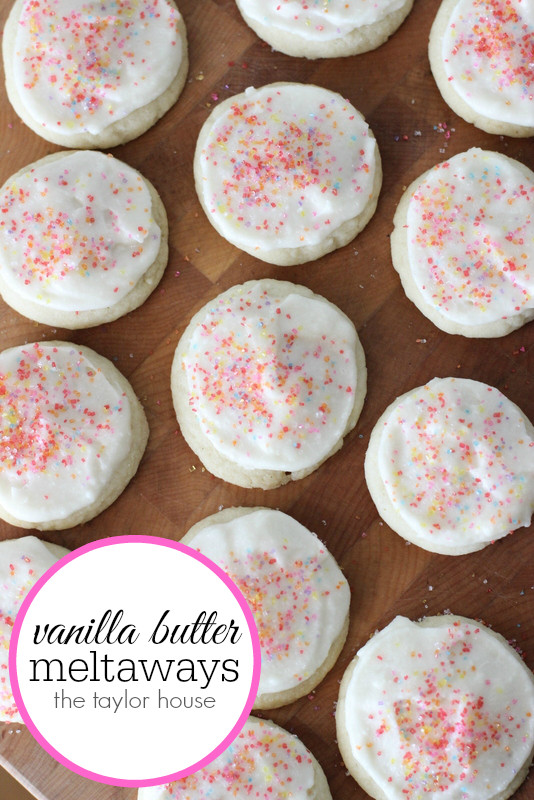 Christmas Meltaway Cookies  Vanilla Butter Meltaway Cookie Page 2 of 2