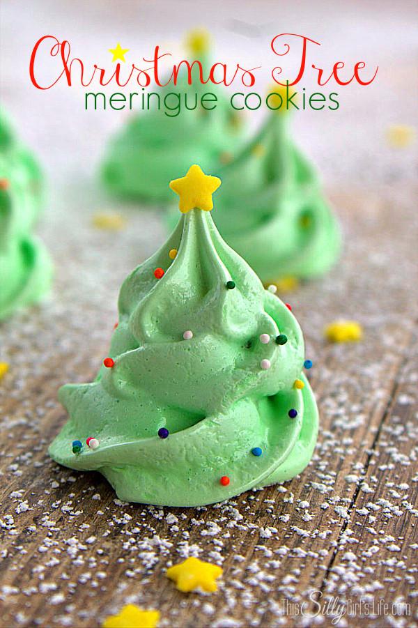Christmas Meringue Cookies  14 Fun Christmas Cookies & Desserts CandyStore