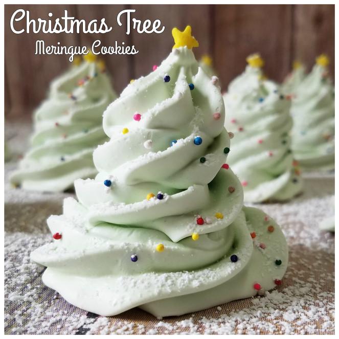 Christmas Meringue Cookies  Christmas Tree Meringue Cookies – Rumbly in my Tumbly