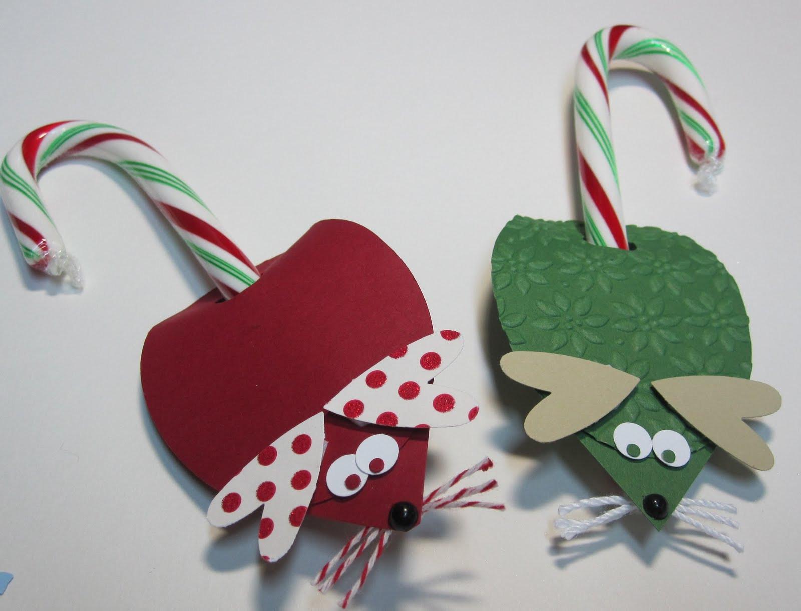 Christmas Mice Candy  Krafting with Karen Christmas Mice
