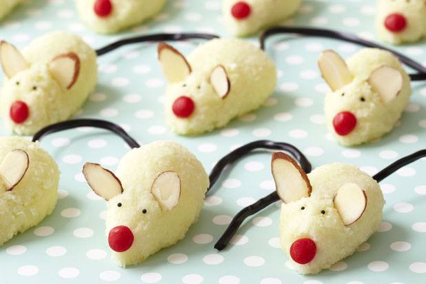 Christmas Mice Candy  Christmas Mice Cookies Recipe by Barbara Grunes and