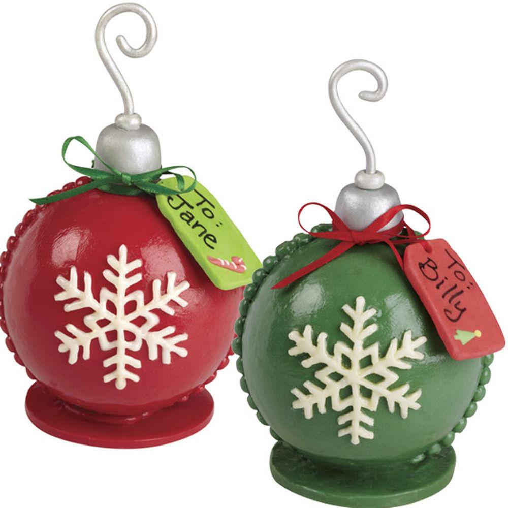 Christmas Ornaments Cakes  Snowflake Ornament Mini Cakes