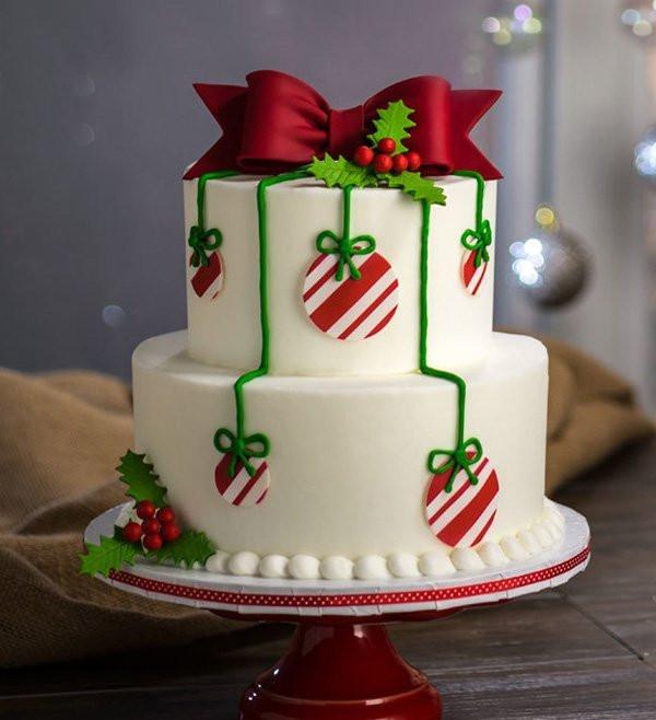 Christmas Ornaments Cakes  15 Creative Christmas Cake Decoration Ideas