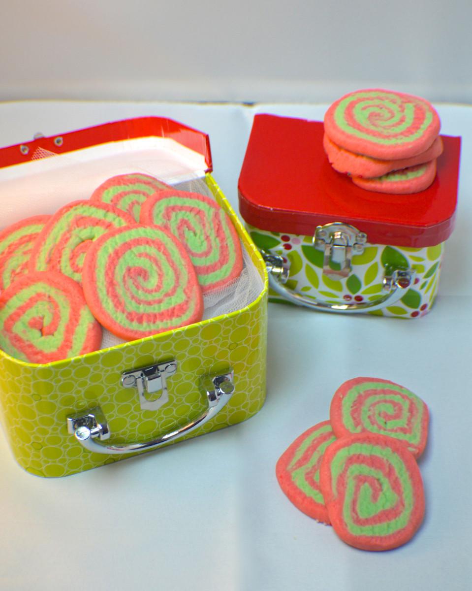 Christmas Pinwheel Sugar Cookies  Christmas Pinwheel Sugar Cookies