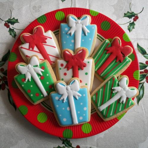 Christmas Present Cookies  snowmen cookies on Tumblr