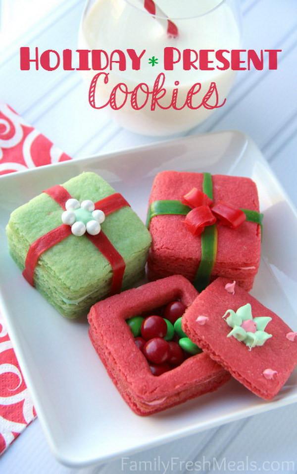 Christmas Present Cookies  30 Best Christmas Cookie Ideas