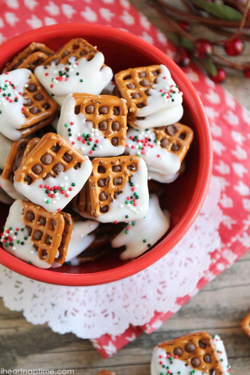 Christmas Pretzels Recipe  Best 25 Rolo pretzel treats ideas on Pinterest