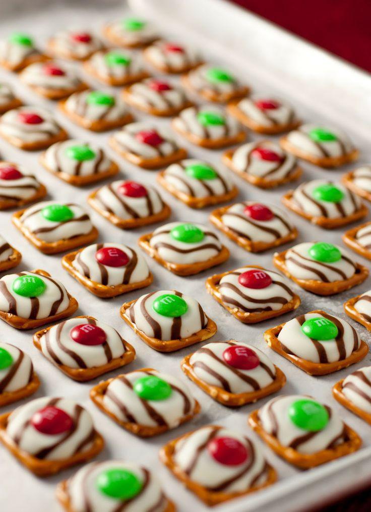 Christmas Pretzels Recipe  CHRISTMAS DECORATING PART 2 design indulgence