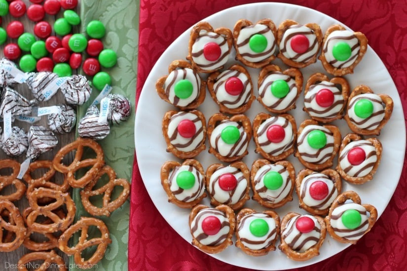 Christmas Pretzels Recipes  Christmas Pretzel Hugs Video Dessert Now Dinner Later