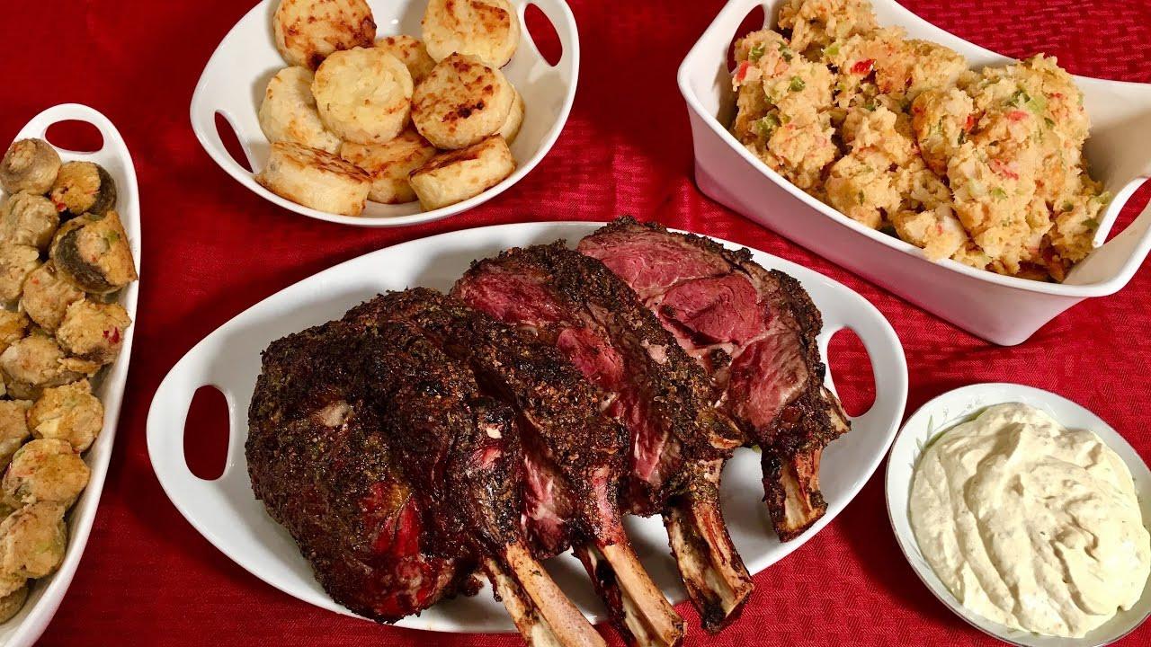 Christmas Prime Rib Dinner  I Bought My Prime Rib Dinner Over The Internet CHRISTMAS