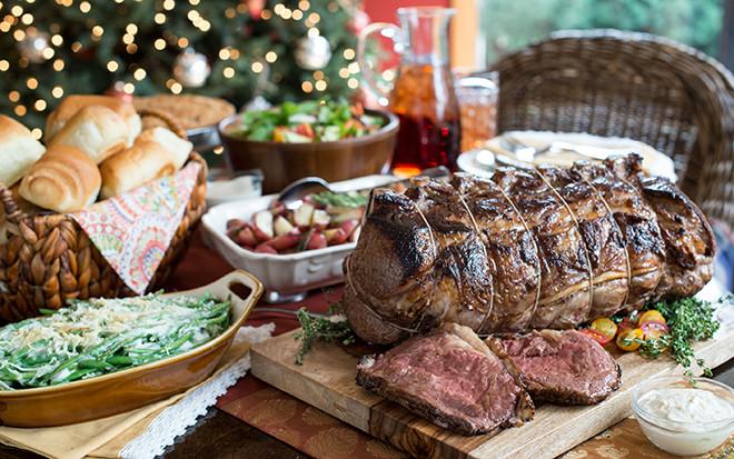 Christmas Prime Rib Dinner  Prime Rib Dinner