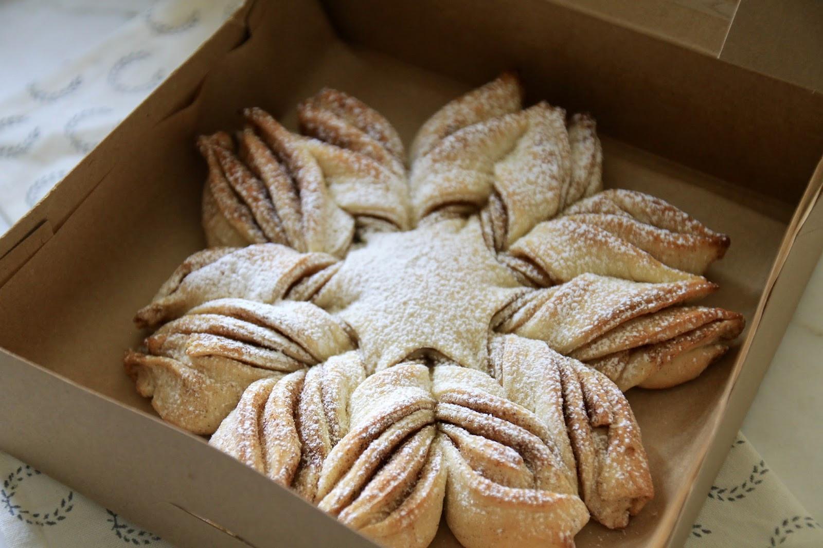 Christmas Star Bread  Jenny Steffens Hobick New Holiday Baking Ideas Christmas