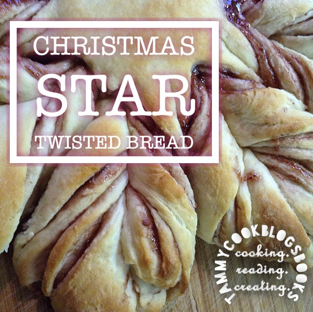 Christmas Star Bread  Christmas Star Twisted Bread RecipeReview