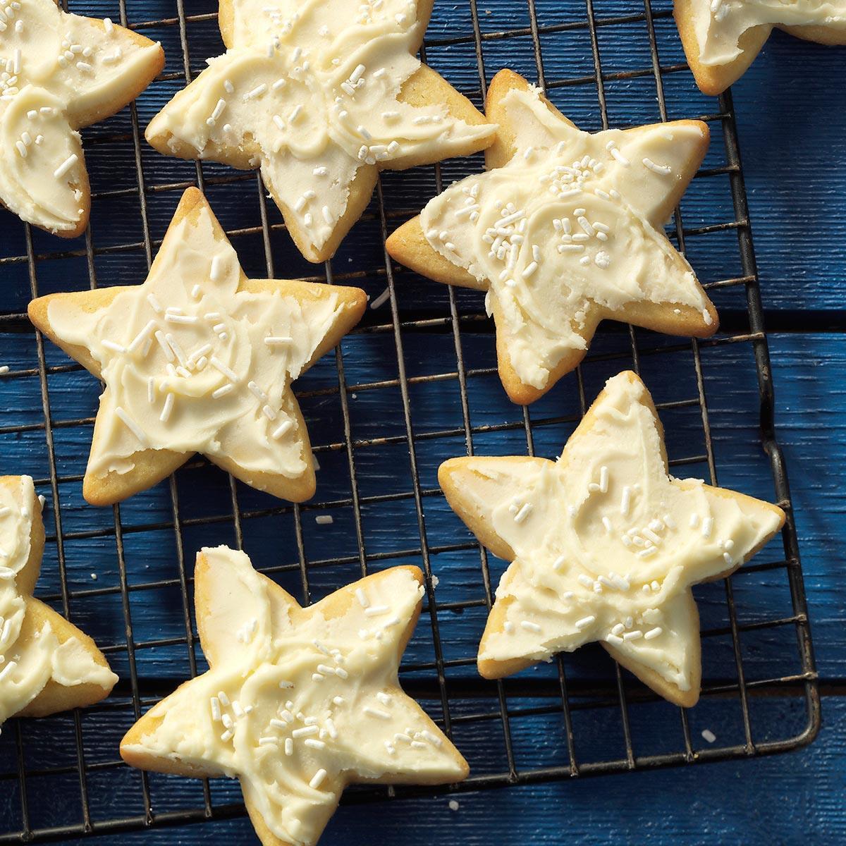 Christmas Star Cookies  Grandma s Star Cookies Recipe