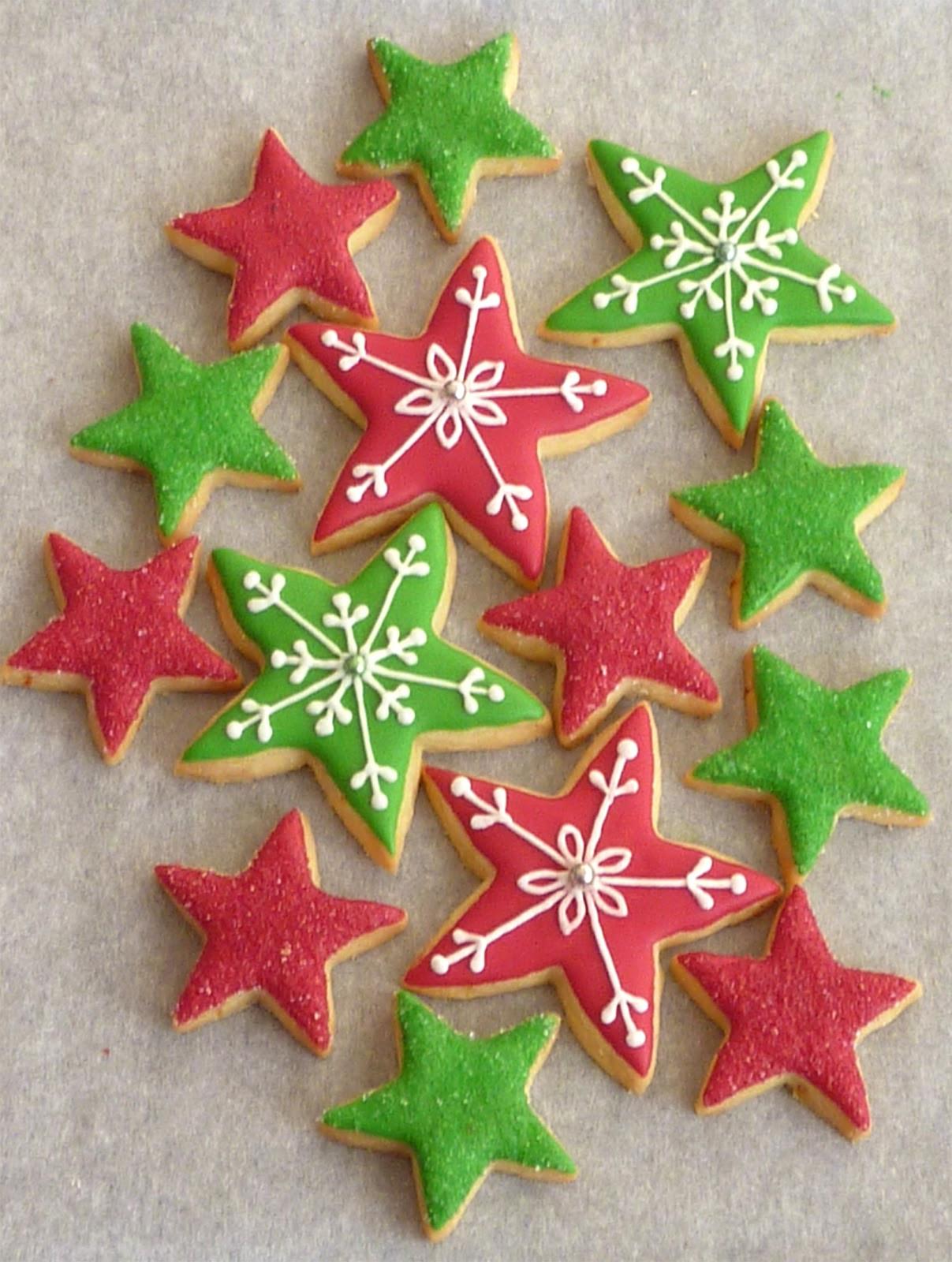 Christmas Star Cookies  Red Moonrise Christmas 2012 Cookies
