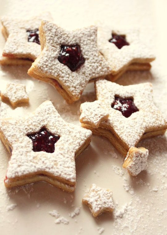 Christmas Star Cookies  Christmas Star Cookies Recipes with Jam — Eatwell101