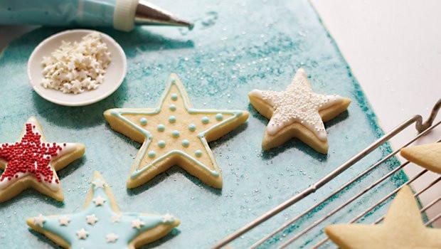 Christmas Star Cookies  Christmas Star Cookies