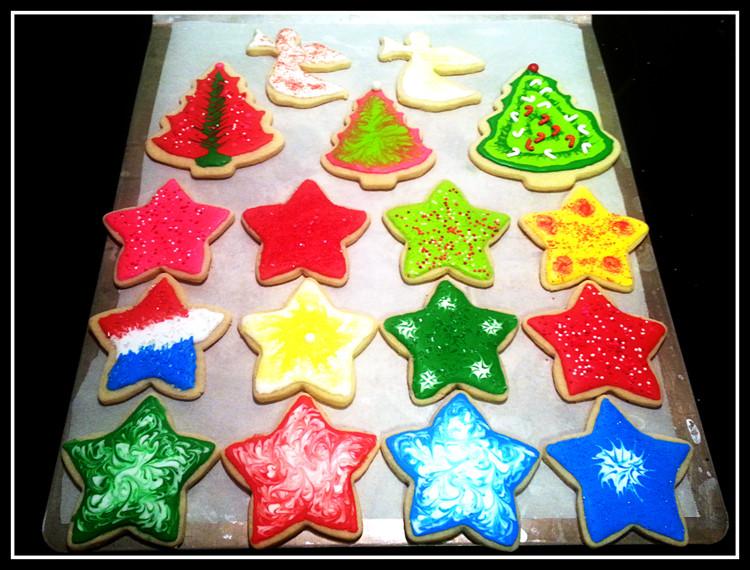 Christmas Star Cookies  Christmas Cookies – My Five Fs