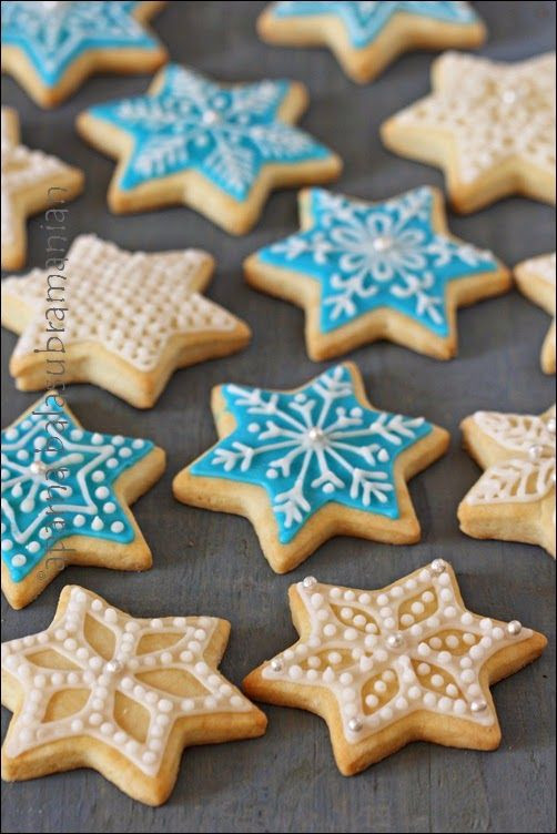 Christmas Star Cookies  78 ideas about Star Cookies on Pinterest