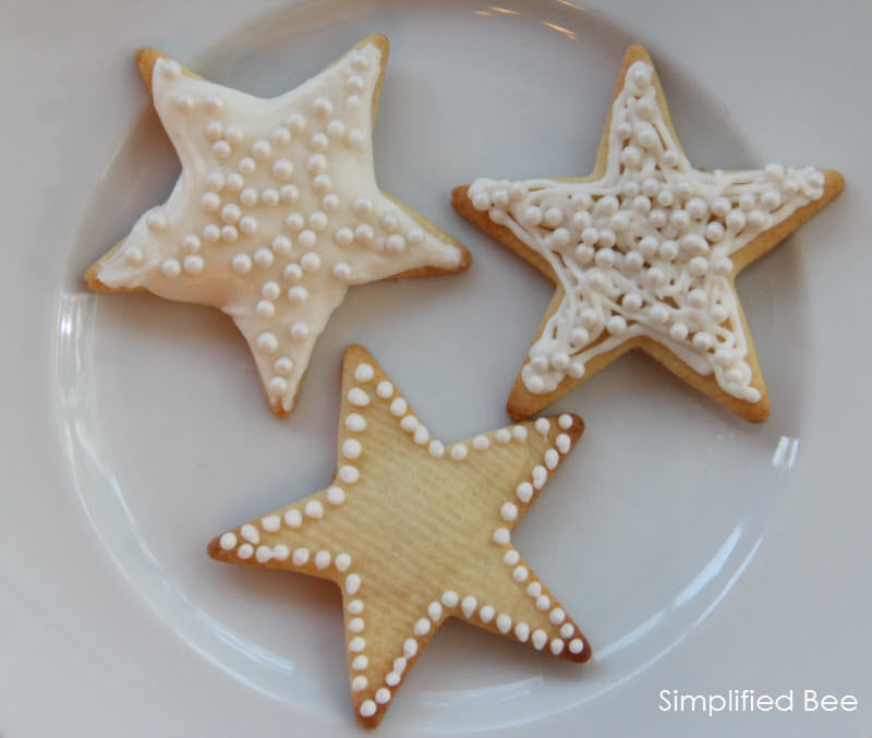 Christmas Star Cookies  Simplified Bee Sugar Star Cookies Simplified Bee