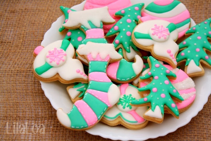 Christmas Stocking Cookies  Christmas Stocking Cookies