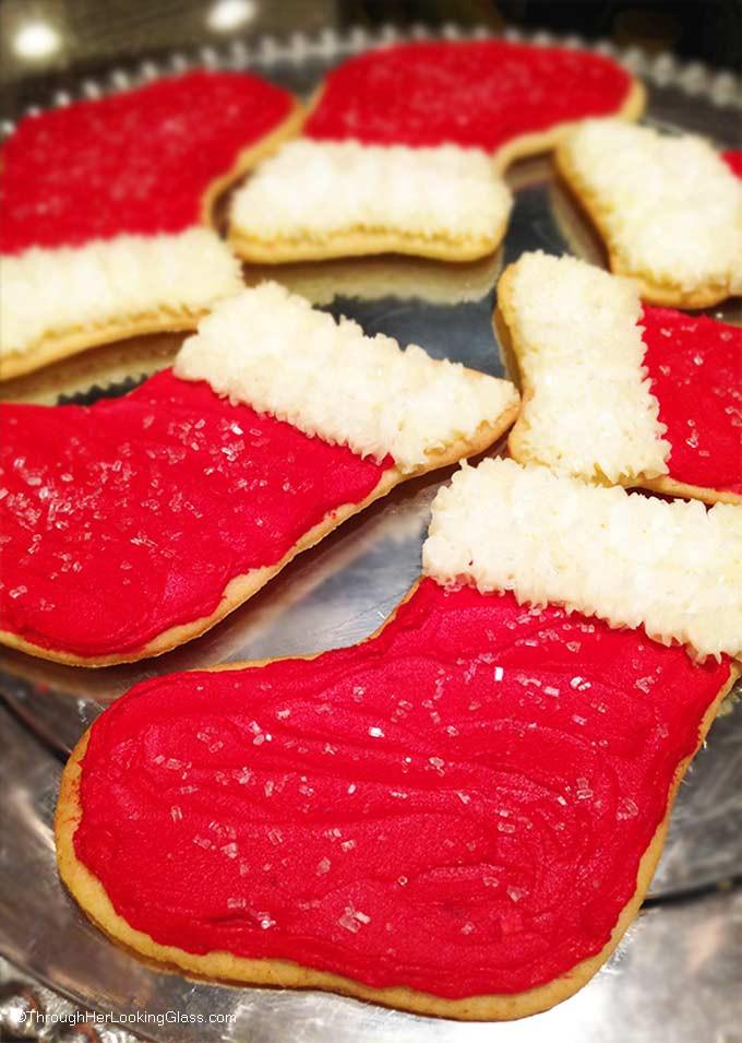 Christmas Stocking Cookies  Christmas Stocking Cookies TGIF This Grandma is Fun