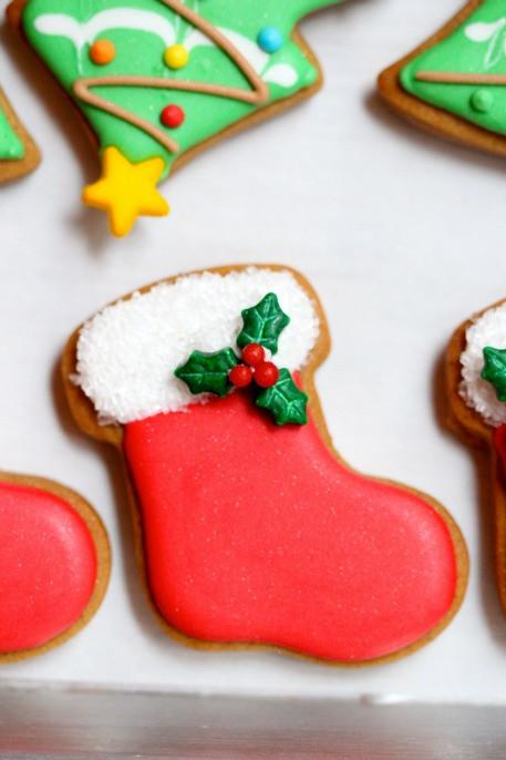 Christmas Stocking Cookies  Christmas Cookies