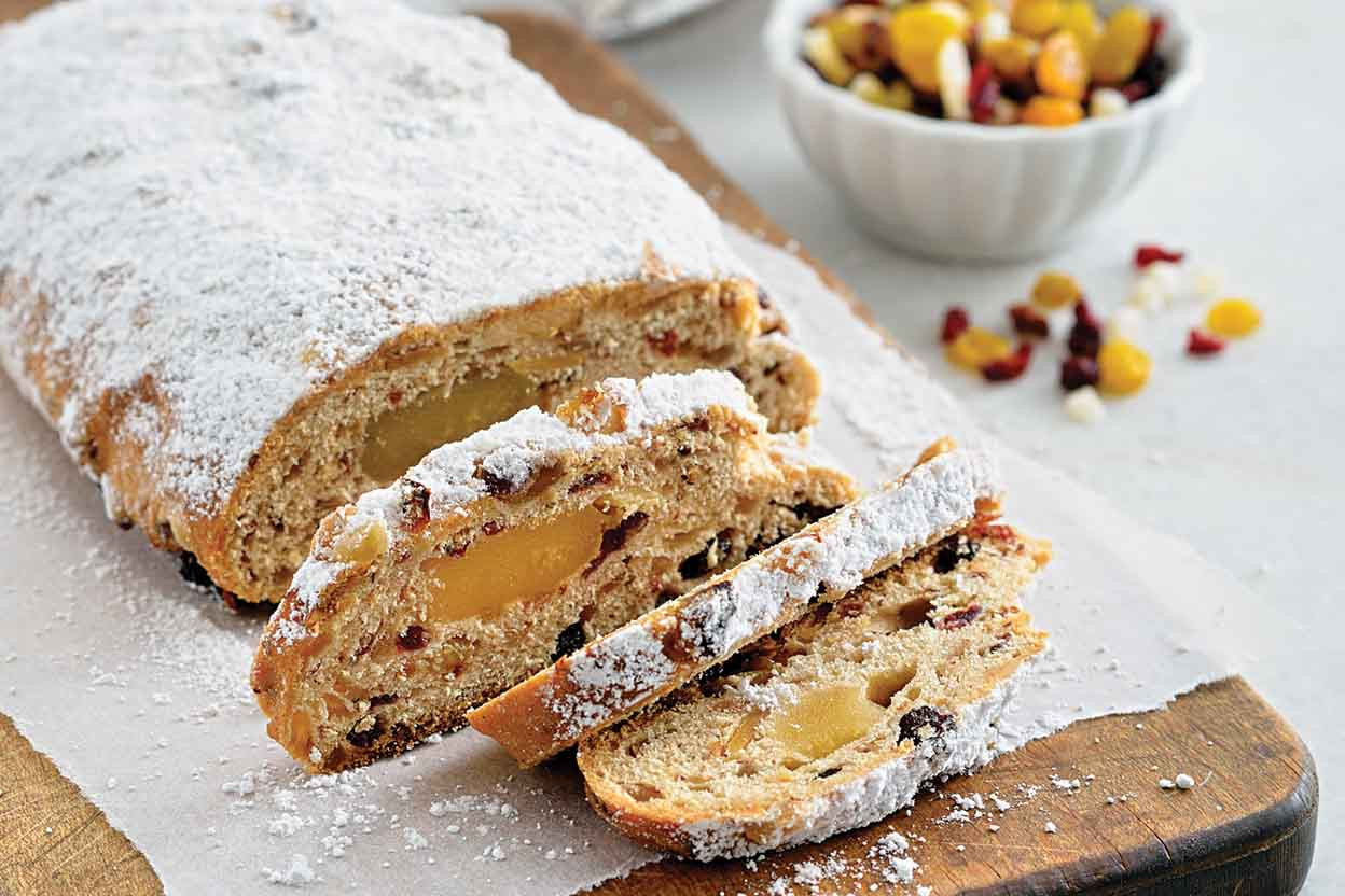 Christmas Stollen Bread  Christmas Stollen Recipe