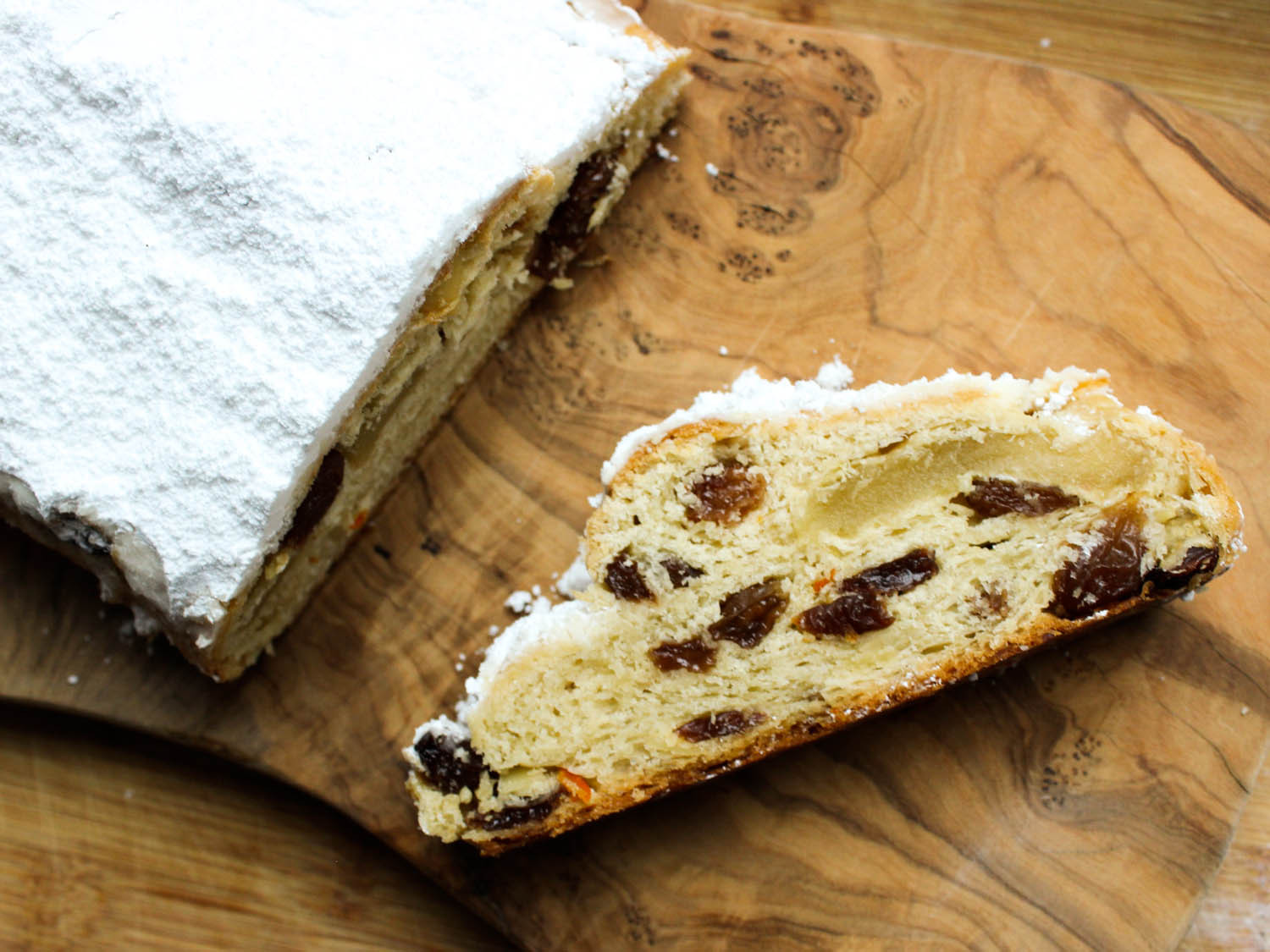 Christmas Stollen Bread  How to Make Buttery Marzipan Stollen