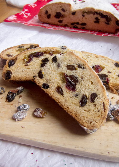 Christmas Stollen Bread  German Christmas Bread Easy Stollen Stollen Bites