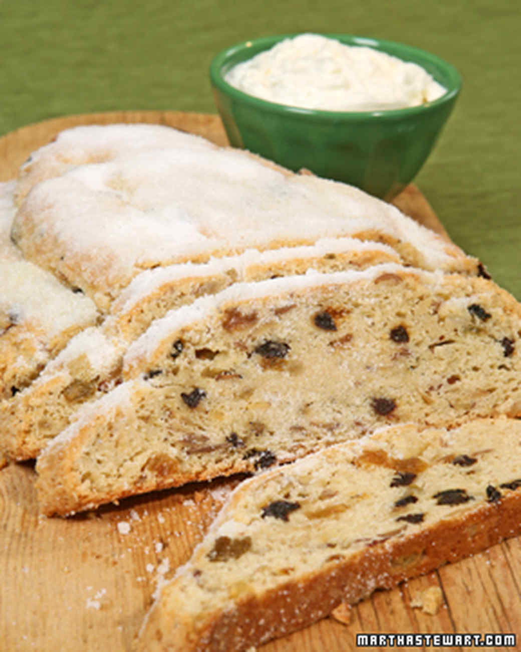 Christmas Stollen Bread  Holiday Fruitcake and Sweet Bread Recipes