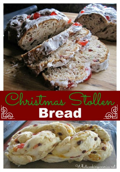 Christmas Stollen Bread  Christmas Dresden Stollen Recipe Whats Cooking America