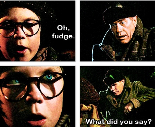 Christmas Story Oh Fudge  Best 20 Christmas story quotes ideas on Pinterest