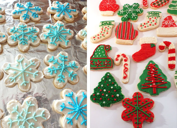 Christmas Sugar Cookie Icing Recipes  The Best Sugar Cookie Recipe Two Sisters