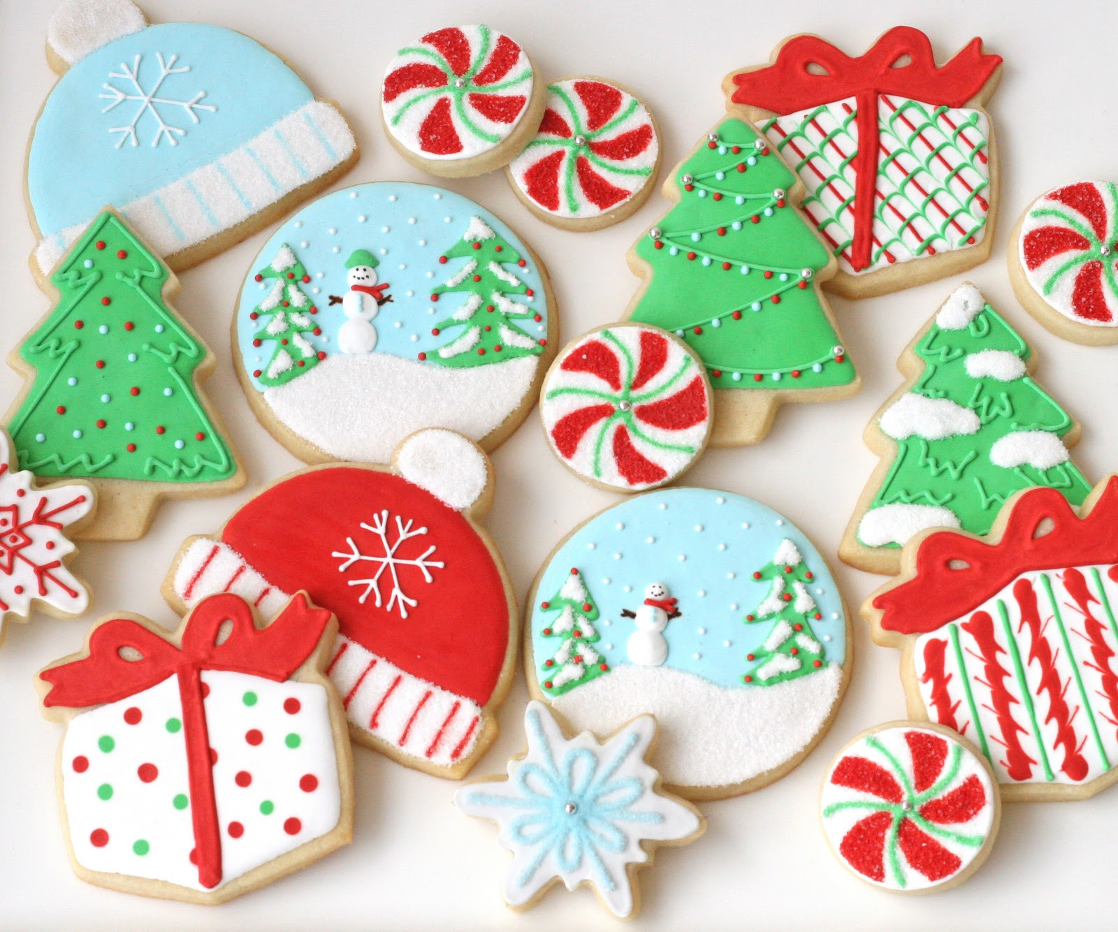 Christmas Sugar Cookies With Icing  Christmas Cookies Galore Glorious Treats