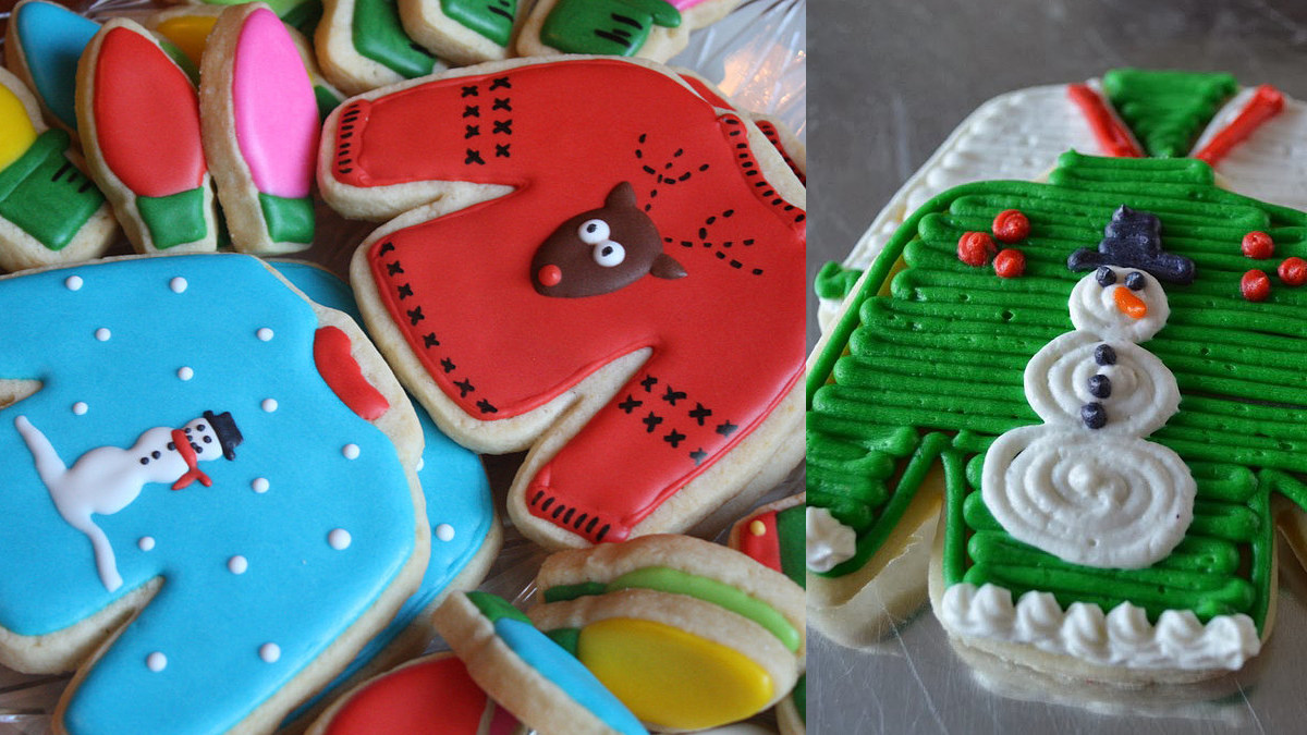 Christmas Sweater Cookies  A Guide to Making the Cutest Ugly Christmas Sweater