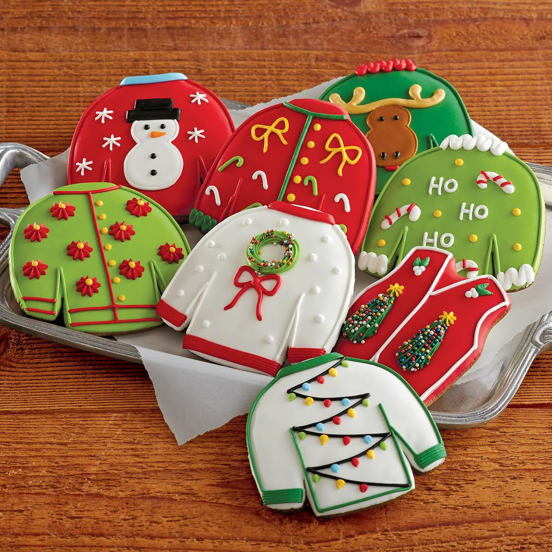 Christmas Sweater Cookies  You re Wel e You re Wel e [GIFTED] Ugly Holiday