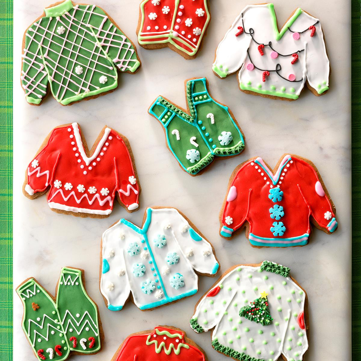 Christmas Sweater Cookies  Ugly Sweater Cookies Recipe