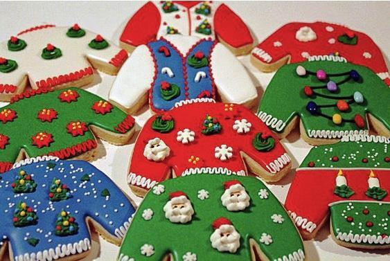 Christmas Sweater Cookies  Ugly Christmas Sweater Cookie Cutter Cheap Cookie Cutters