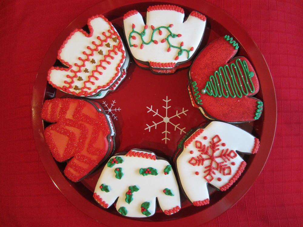 Christmas Sweater Cookies  Ugly Christmas Sweater Cookies
