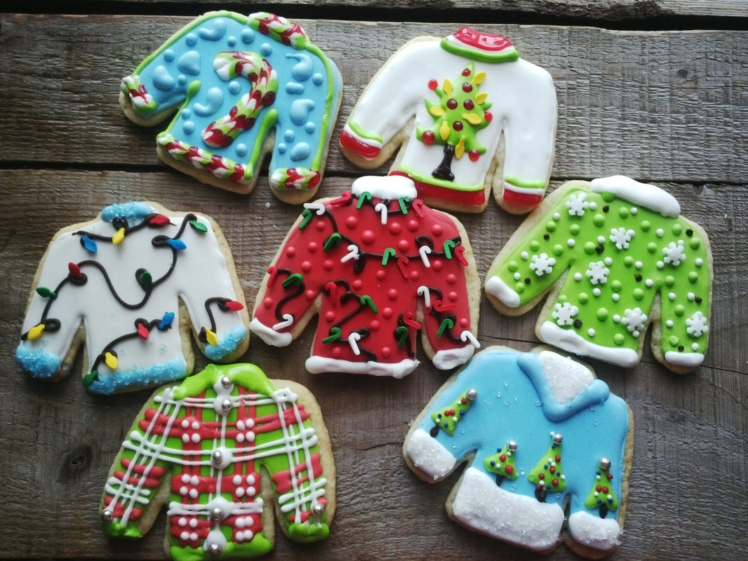 Christmas Sweater Cookies  From The Kitchen Elgin Harvest Elgin Harvest