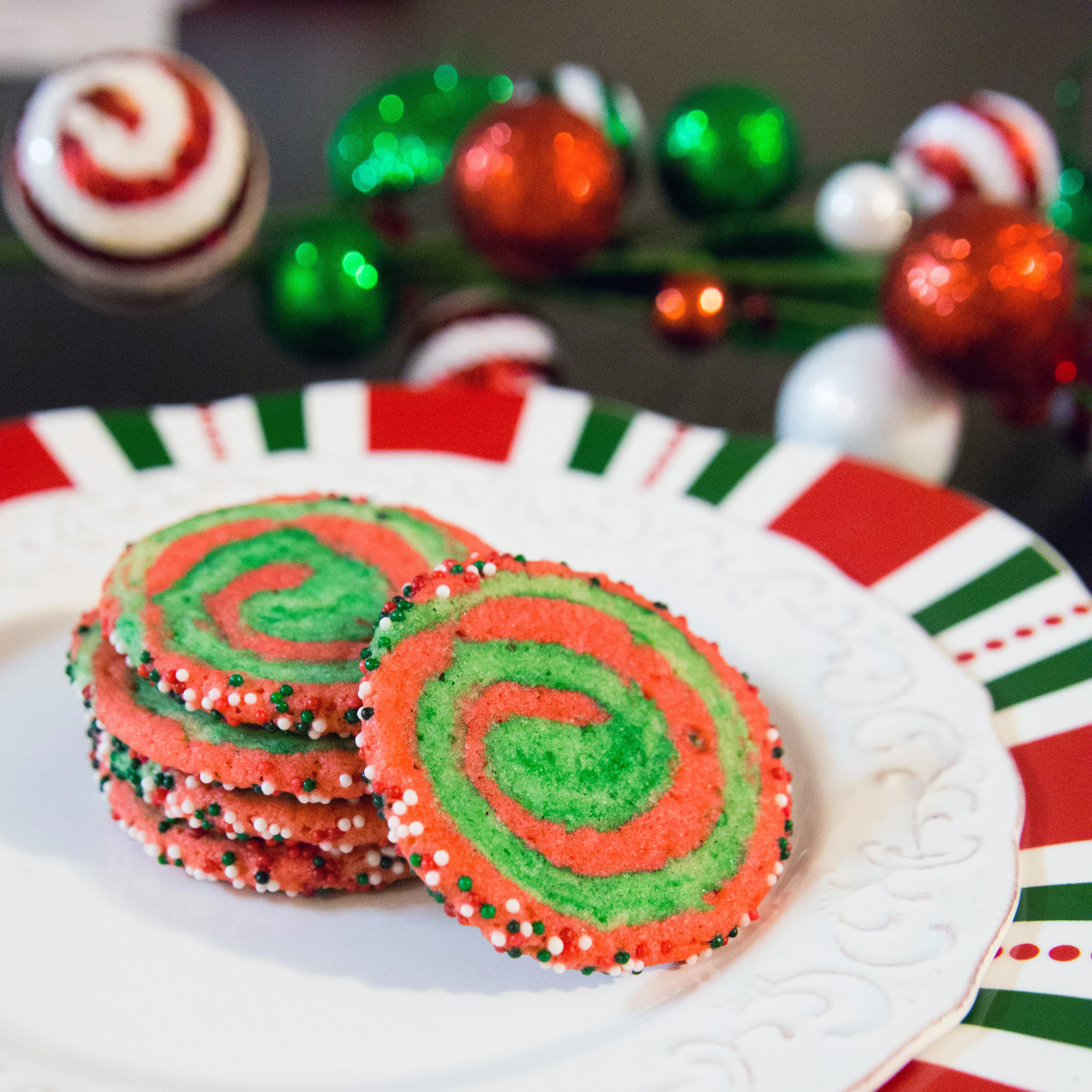 Christmas Swirl Cookies  Christmas Swirl Sugar Cookies