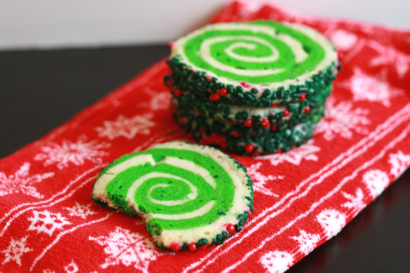 Christmas Swirl Sugar Cookies  Runs With Spatulas Swirl Sugar Cookies