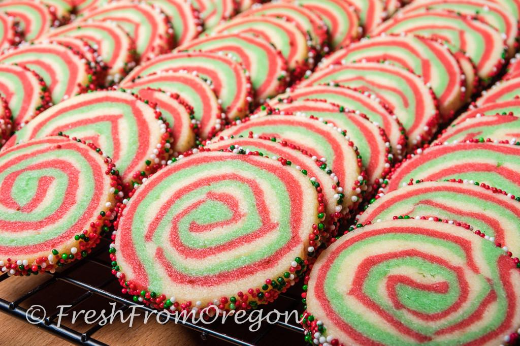 Christmas Swirl Sugar Cookies  The Great Food Blogger Cookie Swap 2015 Christmas Swirl