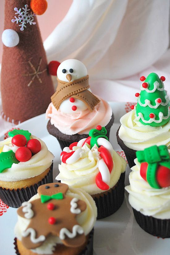 Christmas Themed Cupcakes  Christmas Decorations Cupcakes Next