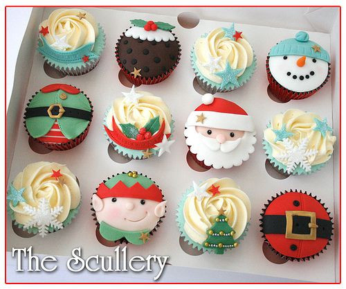 Christmas Themed Cupcakes  1000 ideas about Themed Cupcakes on Pinterest