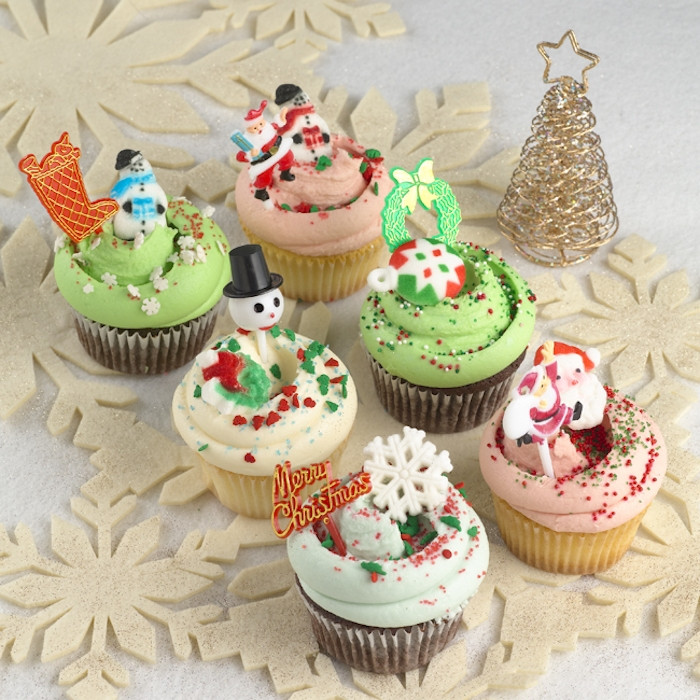 Christmas Themed Cupcakes  1001 Ideas for Tasty and Beautiful Christmas Cupcakes
